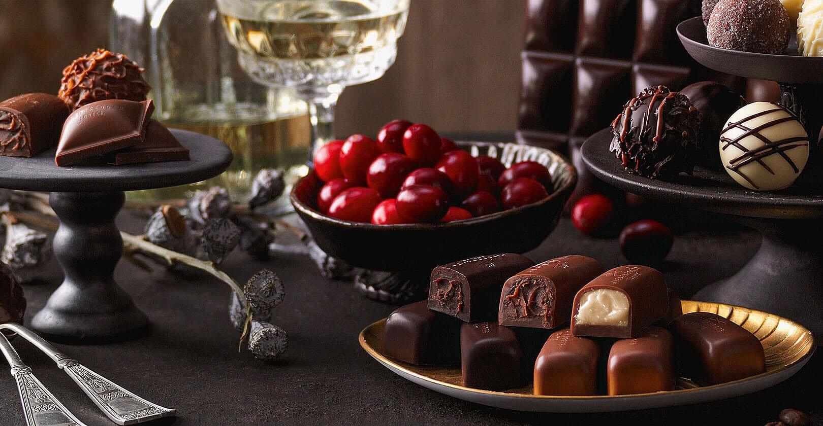 Schokolade – Trüffel – Pralinen – Marzipan